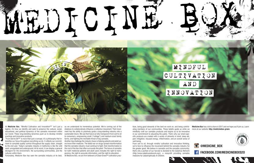 Medicine Box Dope Magazine Feature
